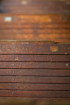 Old Wood brown texture background, Close up