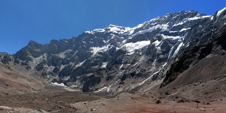 Beautiful mountain landscape in the Andes, Argentina, South America photo