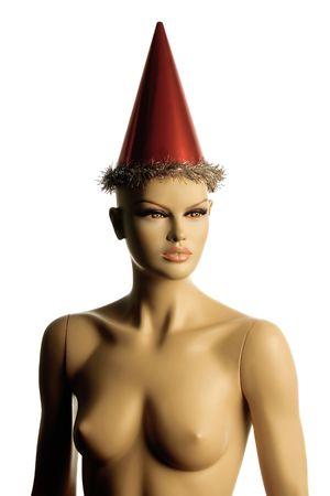 cappello natale: femalebody con cappello di Natale