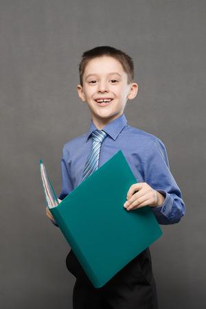 schoolboy: portrait of a schoolboy