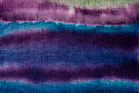 expressionism: Gradients stripes fragment, hot batik background texture, handmade on cloth, surrealism art