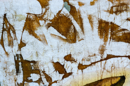 expressionism: Abstraction, hot batik, background texture, handmade on cloth, abstract surrealism art
