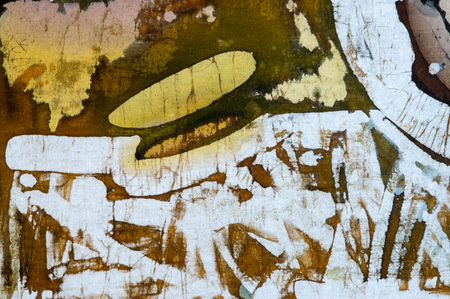 surrealism: Abstraction, hot batik, background texture, handmade on cloth, abstract surrealism art