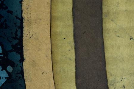 fragment: Vertical stripes, fragment, hot batik, background texture, handmade on silk, abstract surrealism art