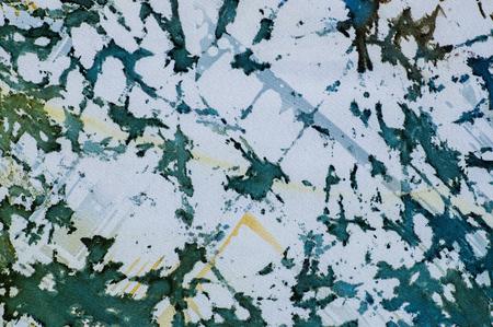 fragment: Abstraction, fragment, hot batik, background texture, handmade on silk, abstract surrealism art Stock Photo