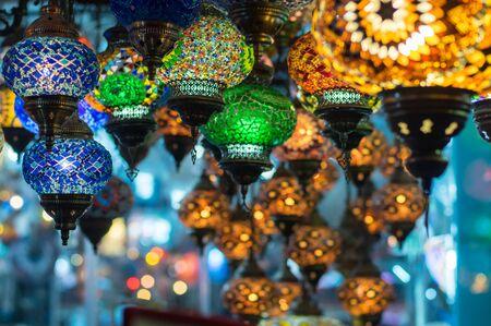 Lanterns in Istanbul shop, Turkey
