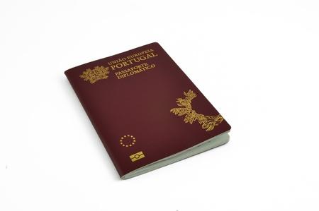 diplomatic: Portuguese, diplomatic, passport, biometric,