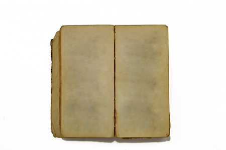 Old book, notepad, isolated Stock Photo - 9624198