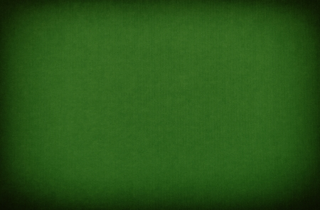 Green paper textured background with vignette Stock Photo
