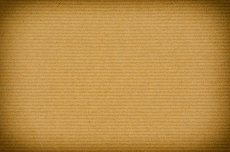 ribbed: old brown striped paper background with vignette