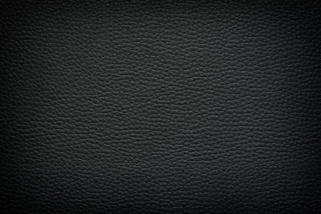 Black leather background, texture