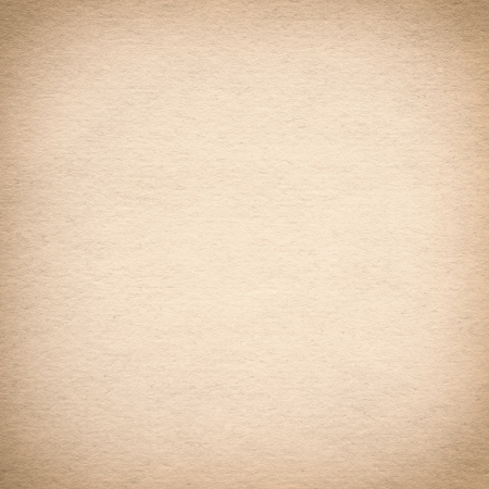 Old brown paper background with vignette
