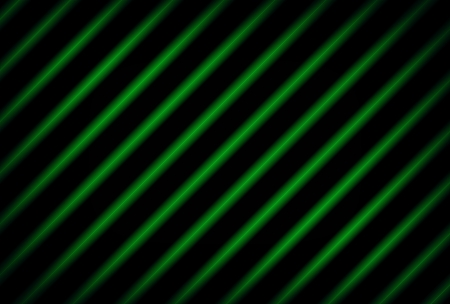 Background made ​​of green light strips photo