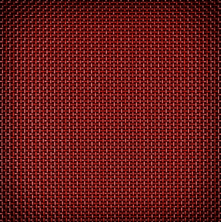 metal grate: Red wire grid background with vignette