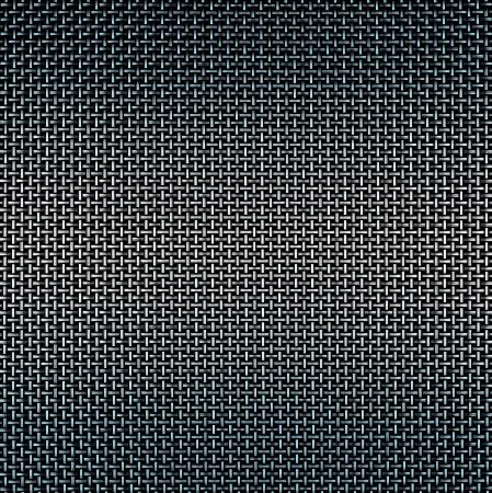 malla metalica: La plata y el cable azul de fondo la red