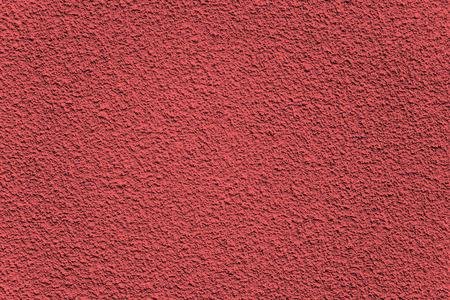 plaster wall: Fondo hecho de rojo con textura de pared de yeso resistente Foto de archivo