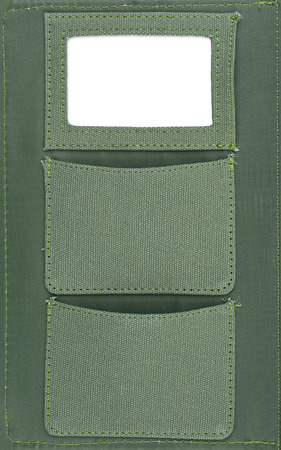 text space: Highly detailed olive pockets made of cotton with text space