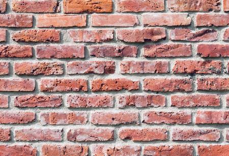 붉은 벽돌로 만들어진 그런 지 배경