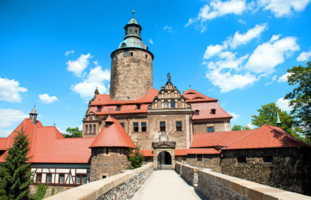 13th century: Castle Czocha from 13th century placed in Poland, Lower Silesia province