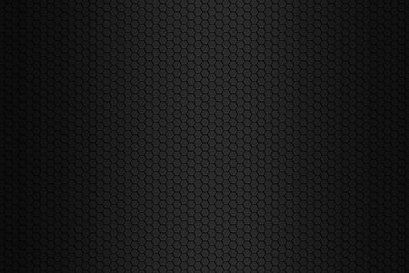 metal black: Black octagon background Stock Photo