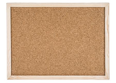 cork board: Cork board in a frame Stock Photo