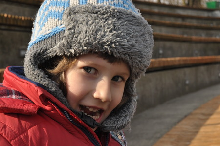 rungs: The boy in the amphitheater. The viewer on the show
