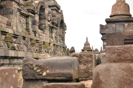 soulfulness: Borobudur, a Buddhist temple in Yogyakarta inscribed on the UNESCO heritage list