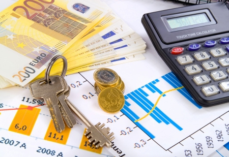 accounting  business deal with key and money