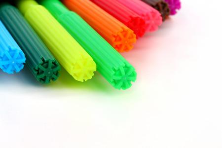 fiber tipped: multicolor children felt-tip pens