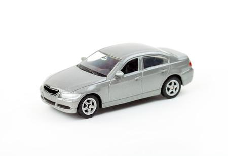 the model car: Classic Metal grey model car Stock Photo