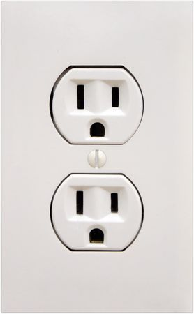 Electrical power outlet.