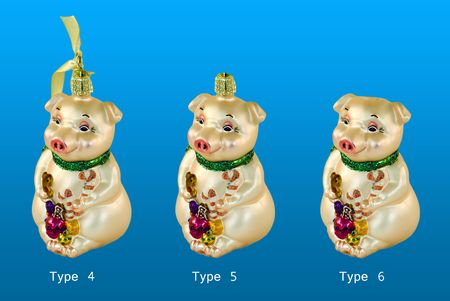 Pigs, elements for design.