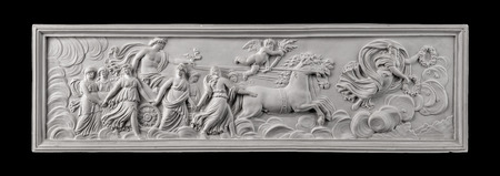 antiquity: plaster painting, antiquity decorate