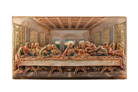 santa cena: color picture of the Last Supper