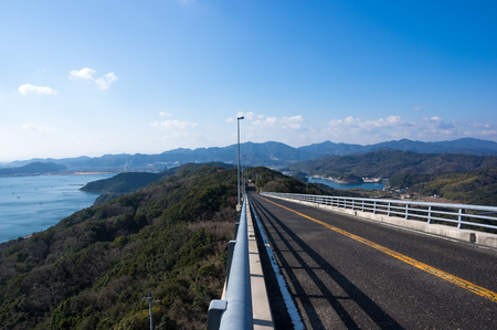 Slope Tokushima Prefecture Near the Four-way observation