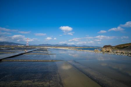 Yoshino River Tenth Floodgate (Ishii Town, Tokushima Prefecture)