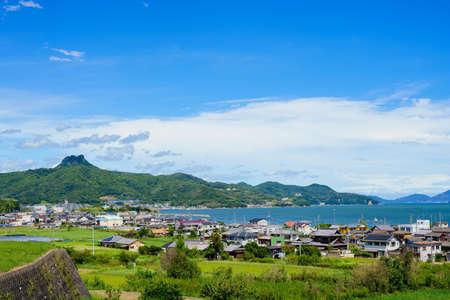 Seto Inland Sea. Gokenzan(Takamatsu City, Kagawa Prefecture)