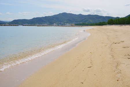 Seto Inland Sea (Kagawa Prefecture. Tsuda's Matsubara)