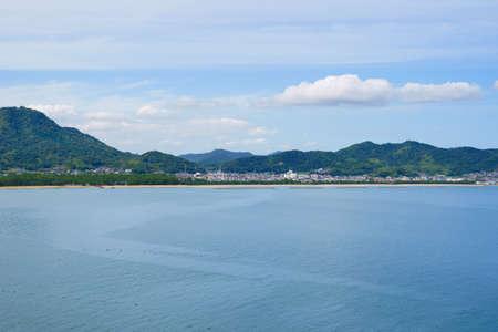 Seto Inland Sea. Tsuda's Matsubara (Kagawa Prefecture)