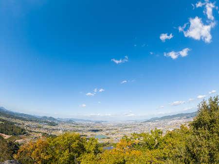 Sanuki Plain. autumn(Miki Town and Takamatsu City, Kagawa Prefecture)