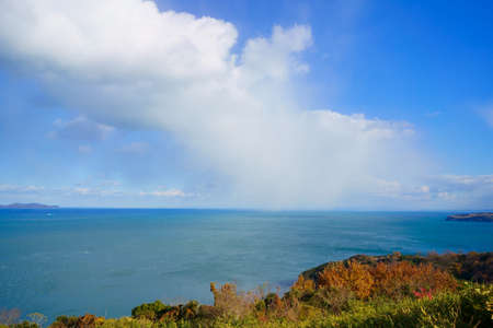 Late autumn Seto Inland Sea(Sanuki City, Kagawa Prefecture)
