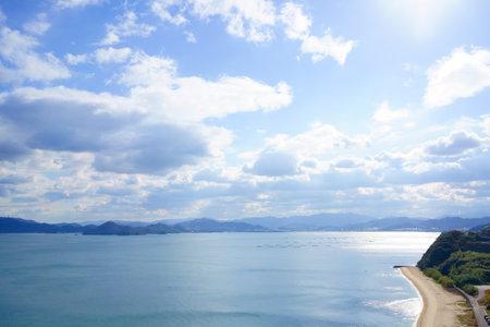 Sparkling Seto Inland Sea Stock Photo