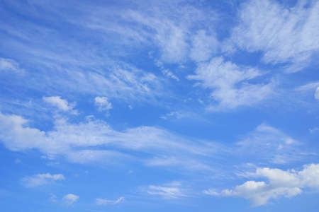 blue sky. cloud. Background material