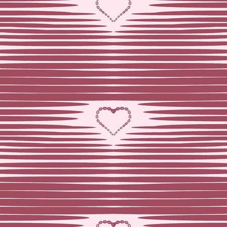 vector background: Red heart abstract background vintage seamless pattern vector background