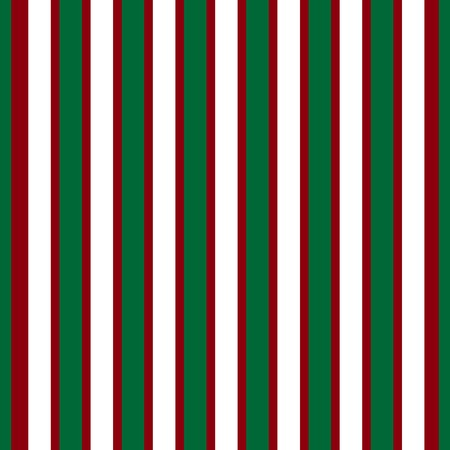 vector pattern: Red white green stripes abstract background seamless vector pattern Illustration