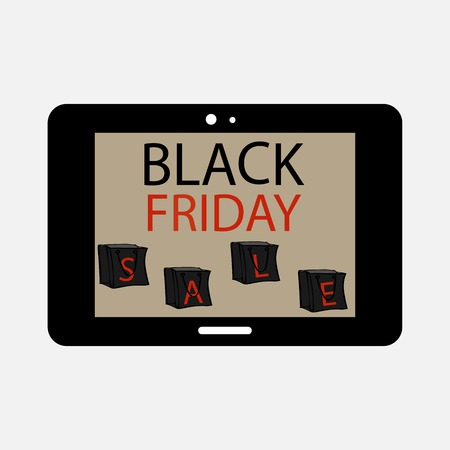programs: Black Friday tablet sale gadgets. Electronics and technology mobile applications and programs. Online store