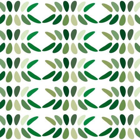 elongated: Green abstract background venchurny. Rounded and elongated elements form a beautiful pattern