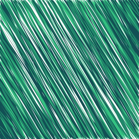 sloppy: Green abstract background shading. Color ink sloppy hatching schedule