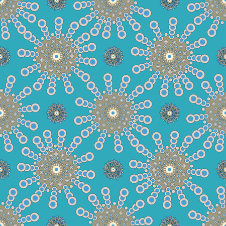 Bright Varicolored seamless pattern background. Vector illustration. Illustration