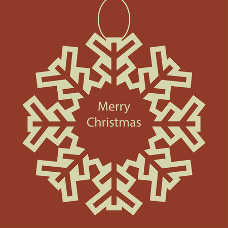 Christmas card background. New year illustration.